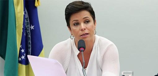 A deputada Cristiane Brasil (PTB-RJ), escolhida ministra do Trabalho
