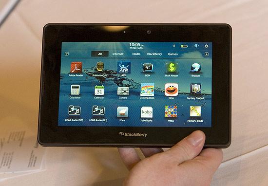"""Interesse empresarial pelo novo tablet da Research in Motion é """"imenso"""", afirmou companhia durante esta quinta-feira"""