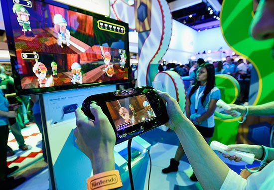 Demonstração do Wii U, da Nintendo, na E3; console permitirá passeios virtuais por cidades