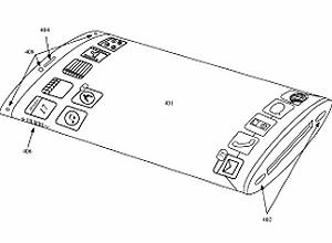 Apple registra patente de celular com tela curva