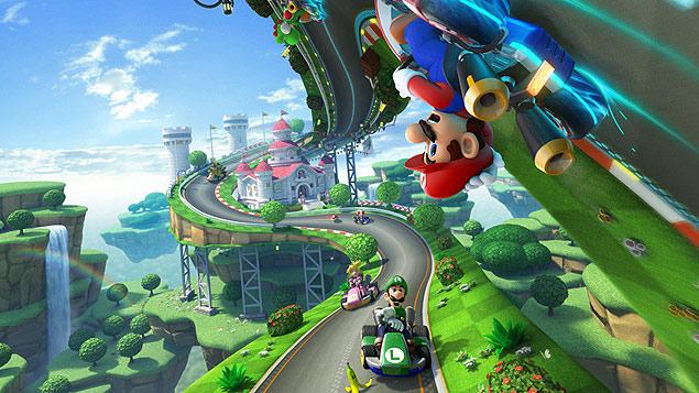 """""""Mario Kart 8"""", jogo da Nintendo para Wii U"""