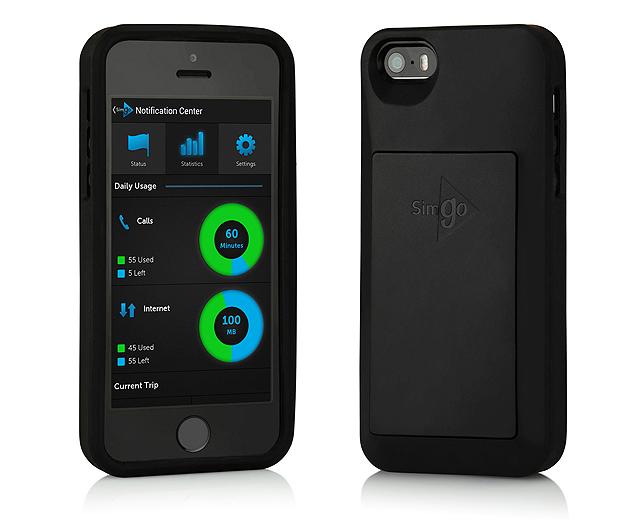 Simgo, capa que elimina necessidade de usar de chips telefônicos no celular