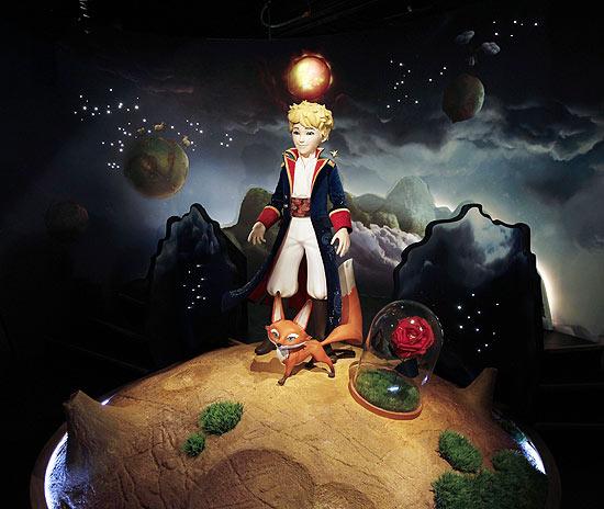 Museu de cera de Paris recebeu estátua do Pequeno Príncipe, personagem criado pelo escritor francês Antoine de Saint-Exupéry