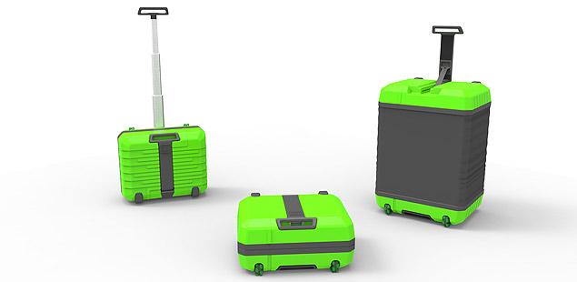 A mala compacta e expandida