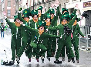 Dia de S. Patrício em Dublin