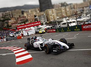 Sessão de treinamento para o GP de Mônaco