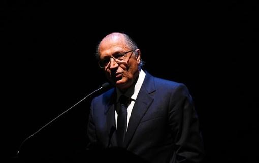 O governador Geraldo Alckmin (PSDB), cuja imagem de gestor experiente será explorada na campanha