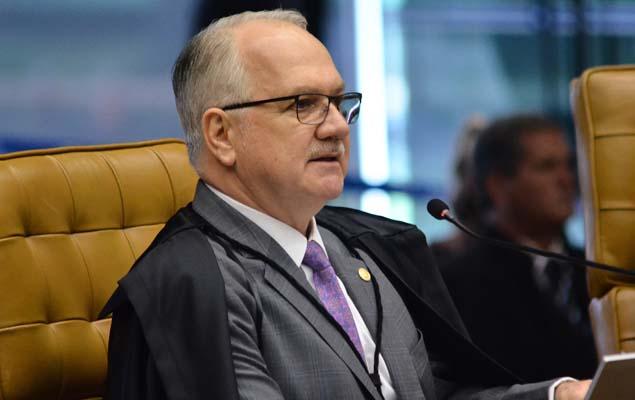 Justice Edson Fachin in Brasília