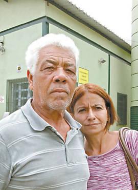 Vildebrando, 69, e Maria José, 45, em AMA na zona sul de SP