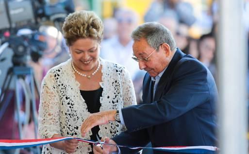 Dilma em Cuba - Porto Mariel