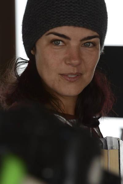 """Ana Paula Arósio nos bastidores das filmagens do longa """"A Floresta Que se Move"""""""