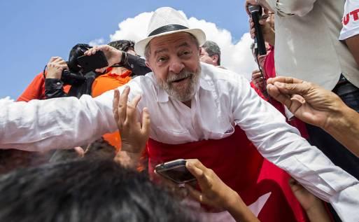 8º dia da Caravana de Lula pelo Brasil - Xexéu (PE)