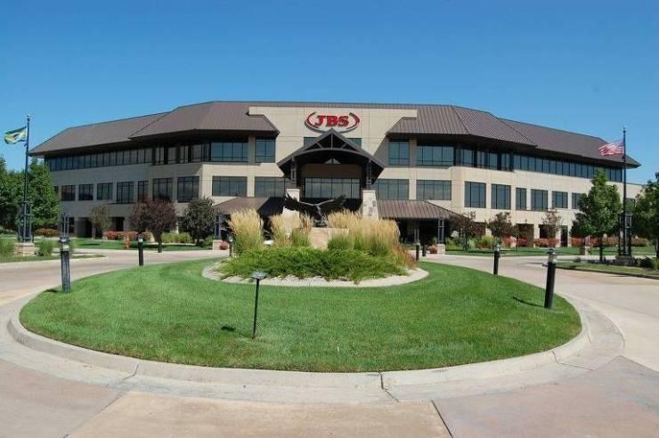 Sede da JBS nos EUA em Greeley, Colorado