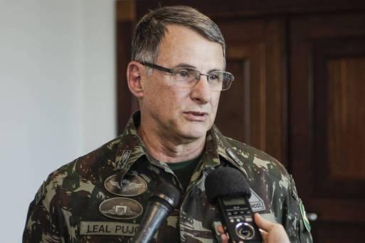 O general Edson Leal Pujol, próximo comandante do Exército