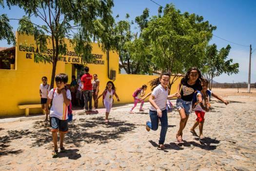 Alunos da Escola Massilon Saboia, em Sobral (CE). A cidade, localizada no interior do estado, é pontada como sensação por causa dos bons resultados no Ideb (Índice de Desenvolvimento da Educação Básica)