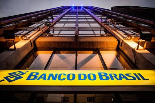 Fachada do Banco do Brasil na avenida Paulista no centro de São Paulo