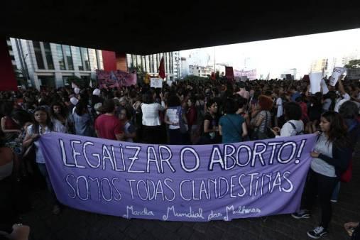 Apoio à descriminalização do aborto