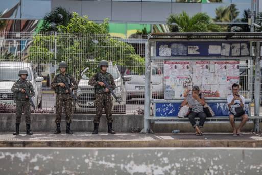 Exército patrulha ruas de Natal (RN)