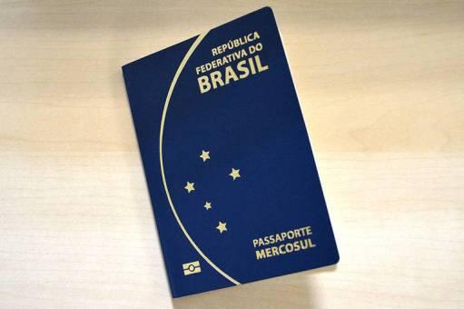 Imagem do passaporte brasileiro