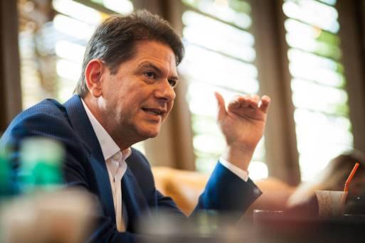 O ex-governador do Ceará Cid Gomes, irmão de Ciro Gomes, que fez críticas ao PT