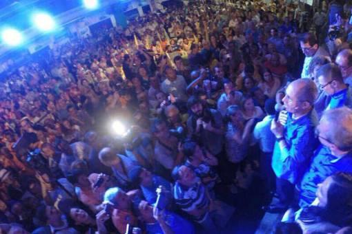 Evento durante a campanha eleitoral de 2014, no Espírito Santo