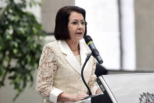 Presidente do STJ, ministra Laurita Vaz