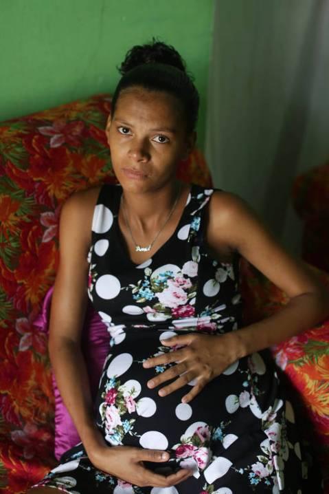 Milena Santos Nascimento, 19, que perdeu filha de 1 ano e agora está grávida novamente