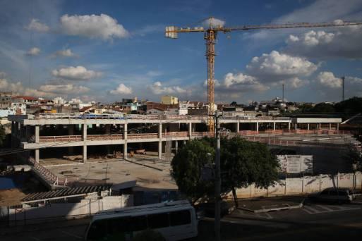Obra de hospital em Brasilândia, na zona norte de São Paulo, deixada inacabada por Haddad