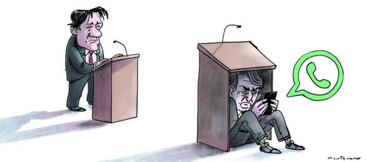 Do que mais tem medo Bolsonaro? - 17/06/2020 - Roberto Dias - Folha