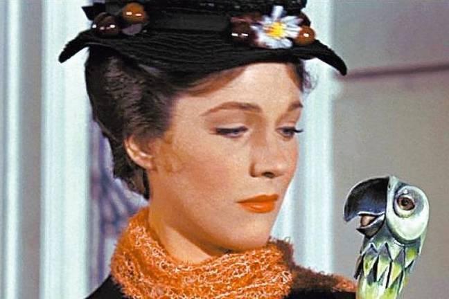 Julie Andrews em cena de