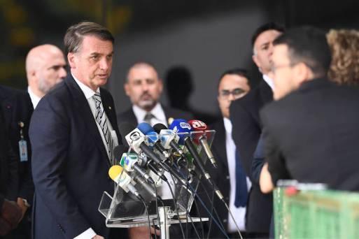 Presidente eleito, Jair Bolsonaro, em coletiva