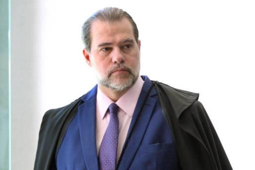 O ministro Dias Toffoli, presidente do STF