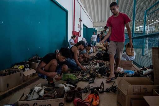 Voluntários em Brumadinho