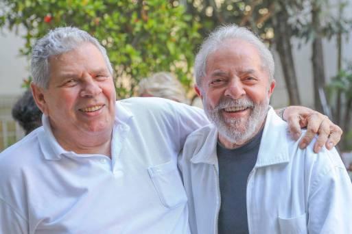 Justiça negou pedido de Lula para ir ao velório do irmão, Vavá, que morreu em São Paulo