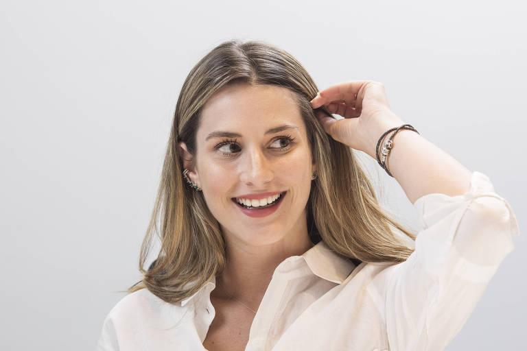 Entrevista com Bettina Rudolph no escritorio da Empiricus