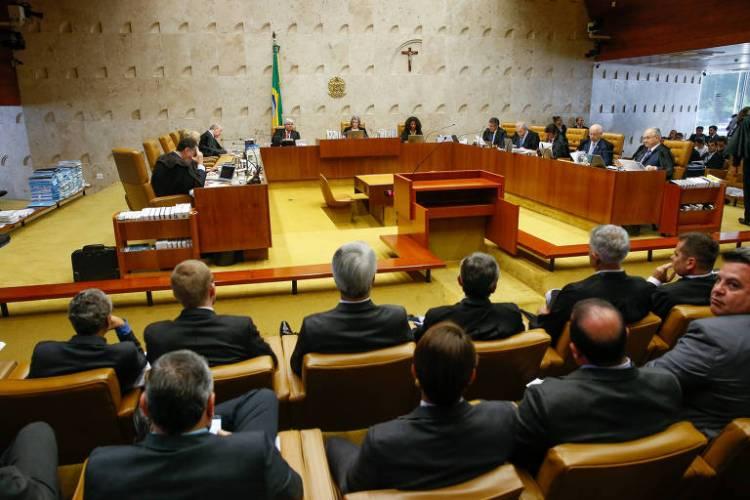 Sessão plenária do Supremo