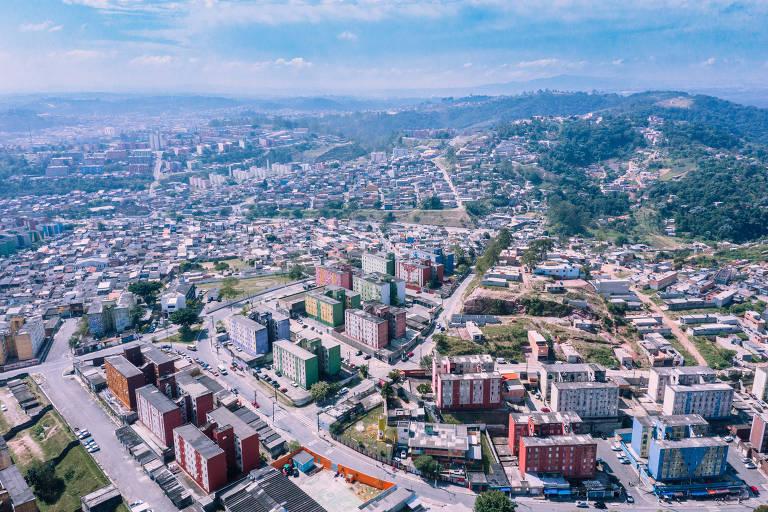 Imagem atual do bairro da zona leste