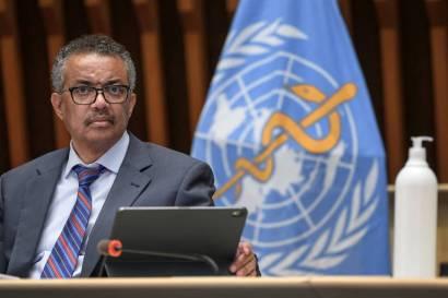 O diretor-geral da OMS (Organização Mundial da Saúde) Tedros Adhanom Ghebreyesus