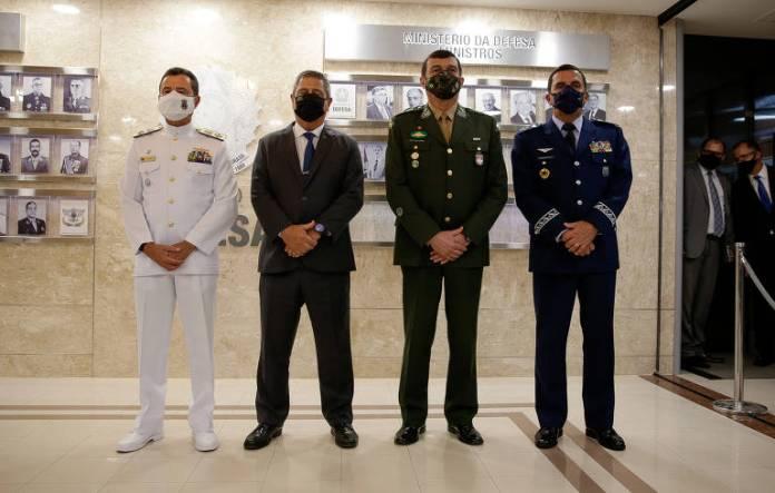 Novos comandantes das Forças Armadas escolhidos por Bolsonaro