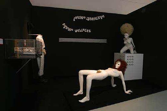 Figurinos e objetos de filmes de Stanley Kubrick