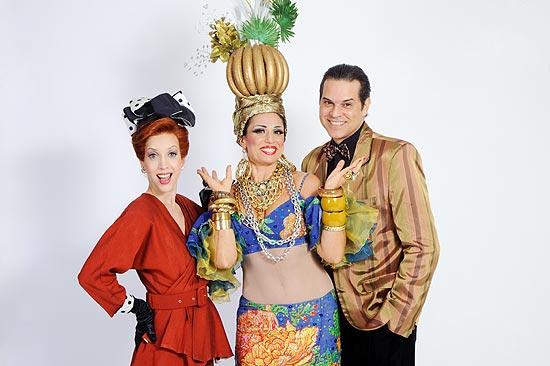 """Kiara Sasso, Julianne Daud e Juan Alba no musical """"New York, New York"""", com direção de José Possi"""