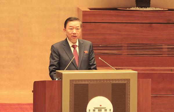 Bộ trưởng Công an,Tô Lâm,luật An ninh mạng,luật Bảo vệ bí mật nhà nước,lộ bí mật nhà nước