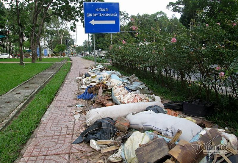 rác sinh hoạt,sân bay,sân bay Tân Sơn Nhất