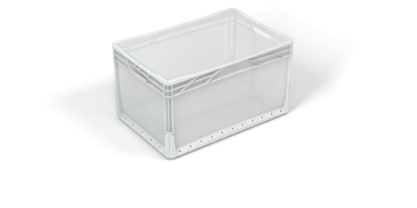 Transparente Plastkasser Food Supply Dk
