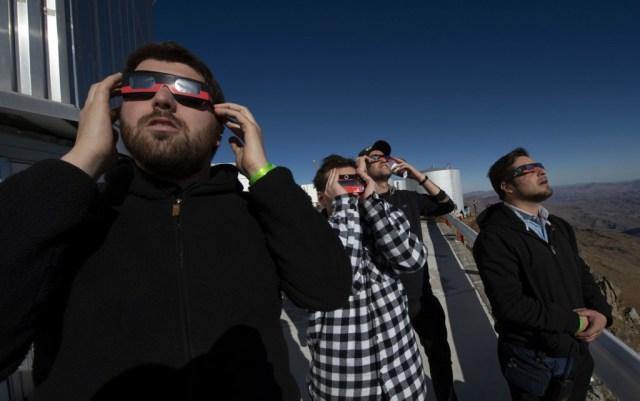 El eclipse total solar de este martes será visible en gran parte de América del Sur, perotuvo en los prístinos cielos del norte de Chile un lugar privilegiado de observación.