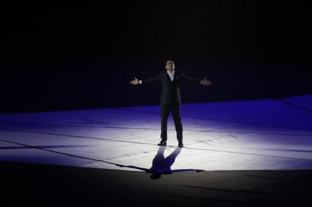Juan Diego Florez interpretó dos canciones de Chabuca Granda en la inauguración de los Juegos Panamericanos Lima 2019..