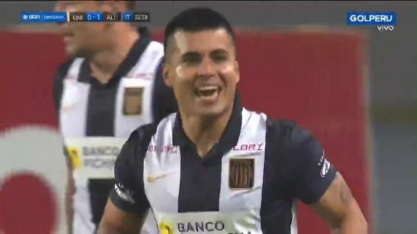 Ricardo Lagos anotó el 1-0 de Alianza Lima sobre Universitario