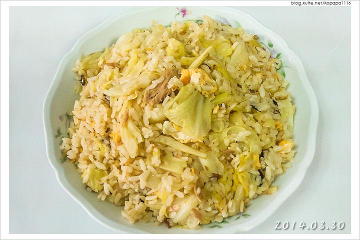 [小薛食譜] 香筍鮪魚炒飯