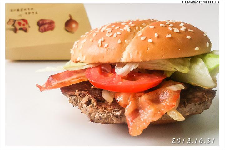 [麥當勞] 1955 美式培根牛肉堡