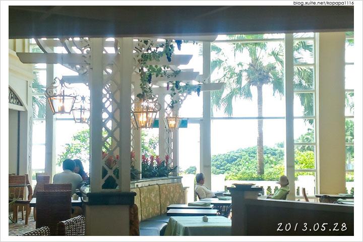[花蓮壽豐] 遠雄悅來大飯店-英倫庭苑西餐廳 | 自助式早餐